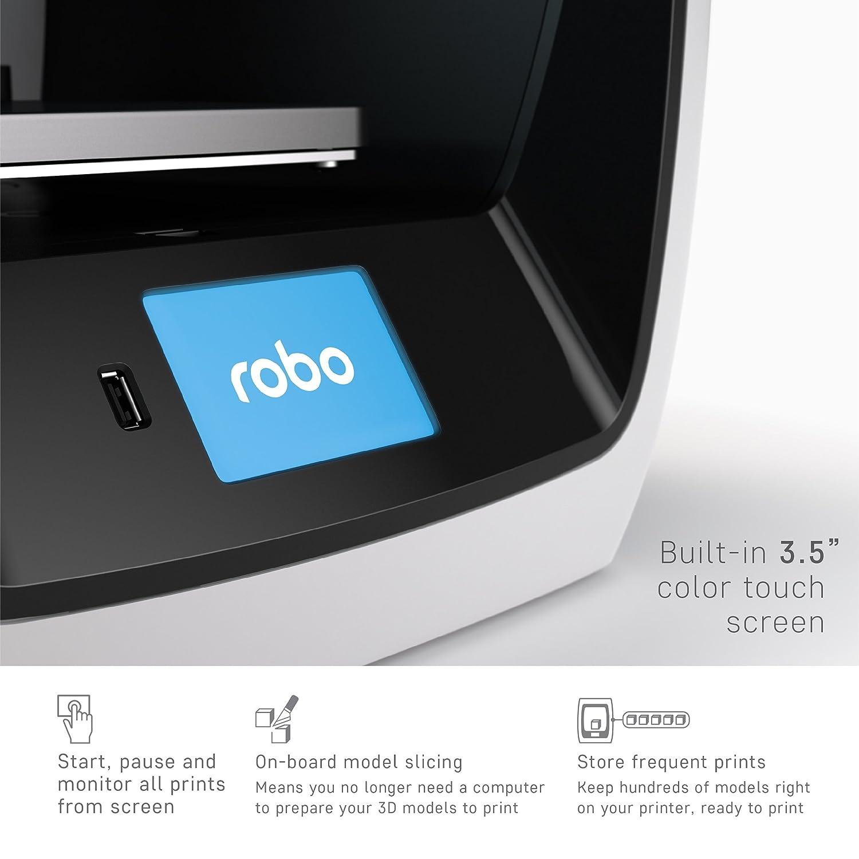 ROBO Imprimante 3D Robo C2: Amazon.es: Industria, empresas y ciencia
