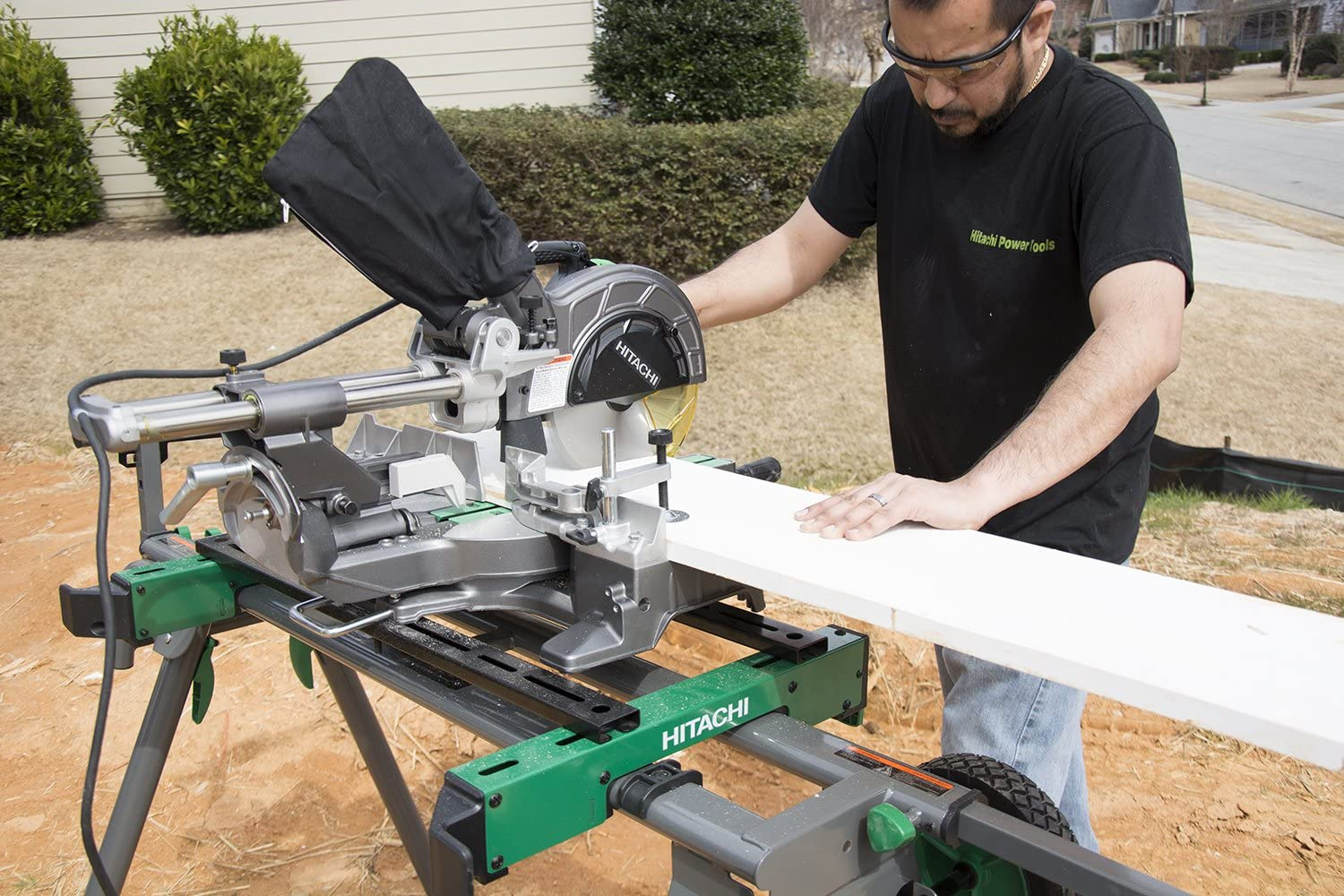 Hitachi C8FSE Sliding Compound Miter Saw