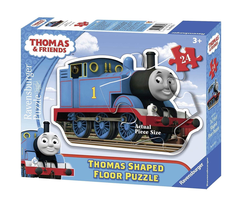 Ravensburger Thomas & Friends: Thomas The Tank Engine 24 Piece Shaped Floor Puzzle 05372 Children: Kindergarten Juvenile Nonfiction
