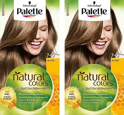 Schwarzkopf Palette Natural Colors Coloration Permanente