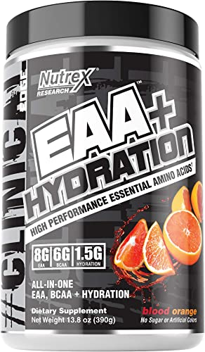 Nutrex Research EAA Hydration 8 Grams of High Performance Essential Amino Acid