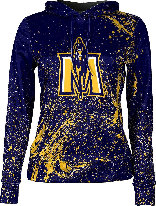School Spirit Sweatshirt Splatter Murray State University Girls Pullover Hoodie
