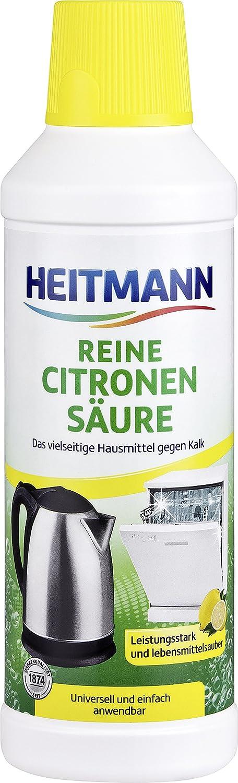 Brauns-Heitmann Acide citrique pur 500 ml  Amazon.fr  Hygiène et Soins du  corps c98953a4e76