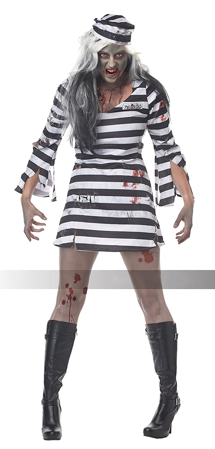 Amazon.com: Disfraz de convicta California Costumes: Clothing