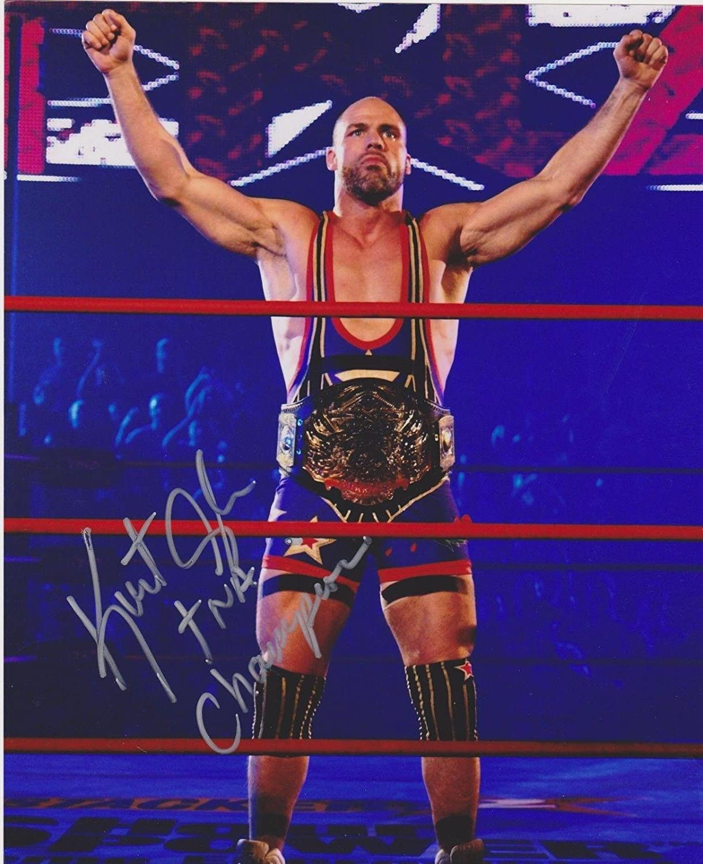 KURT ANGLE WRESTLER 8 X 10 WRESTLING PHOTO WWE