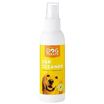 Natural Dog Treats Limpiador de Oidos para Perros, Gotas De Orejas ...