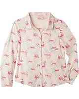 OFFCORSS Big Girls Long Sleeve Collared Dress Shirts | Camisas Manga Larga Niña