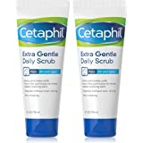 Cetaphil Exfoliating Face Wash, Extra Gentle Daily Face Scrub, Gently Exfoliates & Cleanses, For All Skin Types, Non-Irritati