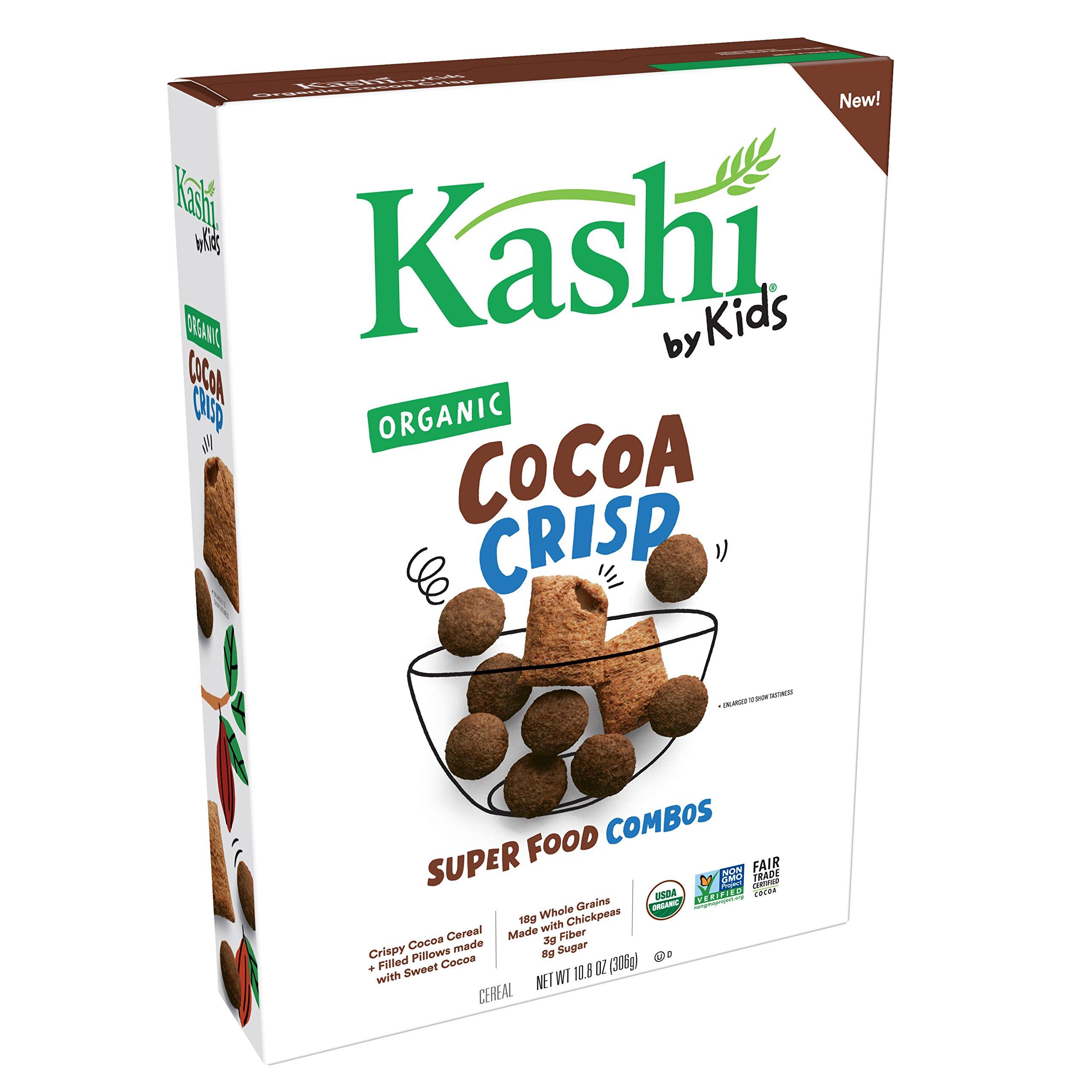 Amazon.com  Kashi by Kids Organic Cereal Honey Cinnamon 11oz (Pack ... c882a4c0e