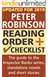 Peter Robinson Reading Order and Checklist: The guide to the Inspector Banks series, standalone novels and short stories