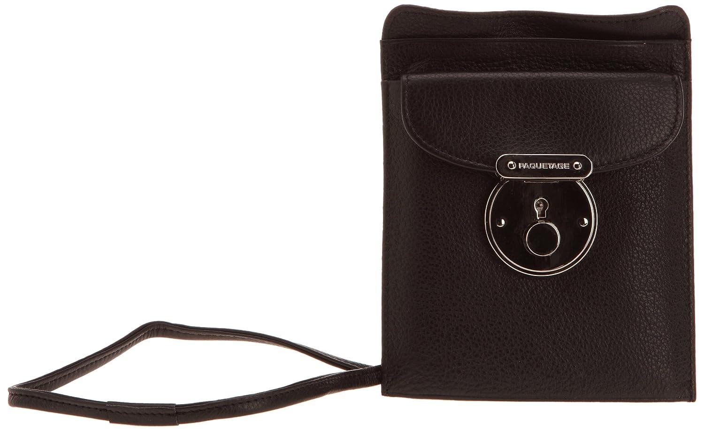 8ecbc51624 Paquetage Pochette Pm Emile 77493_Noir, Damen Umhängetasche, Schwarz  (Noir), Einheitsgröße: Amazon.de: Schuhe & Handtaschen