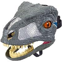 Jurassic World Masque électronique du Velociraptor Blue, FMB74, Taille Unique