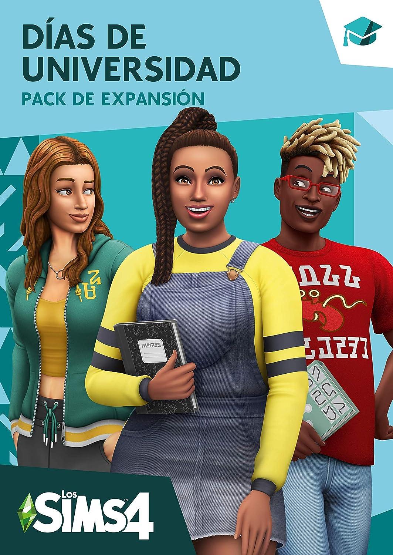 Los Sims 4 - Días de Universidad [Expension Pack 8] Standard | Código Origin para PC: Amazon.es: Videojuegos