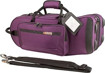 Protec PB301TLPR - Estuche para trompeta, color púrpura: Amazon.es: Instrumentos musicales