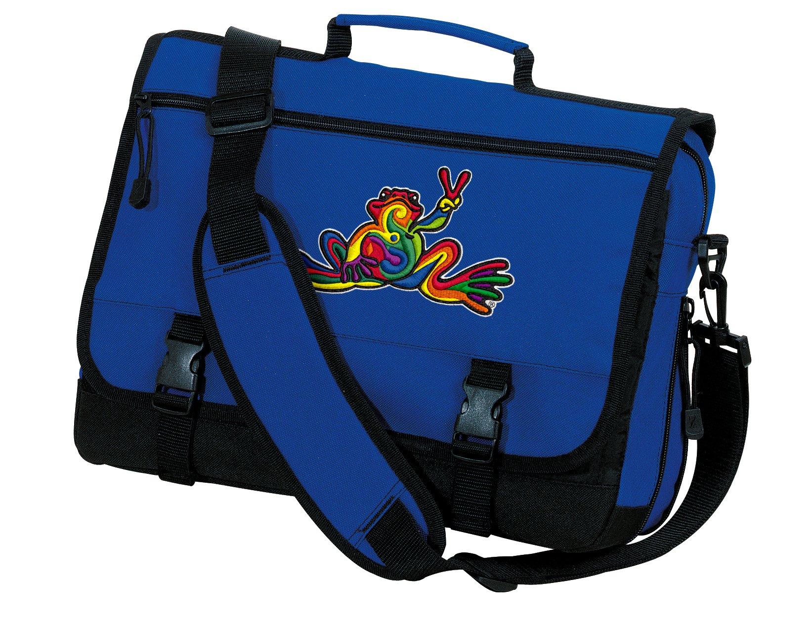 Peace Frog Laptop Bag Peace Frogs Messenger Bags