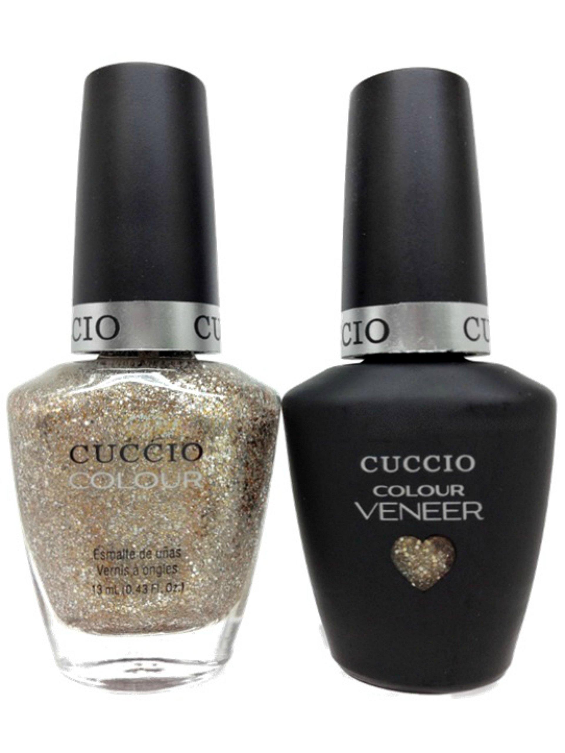 Amazon.com : CUCCIO COLOUR - LED/UV Gel and Nail Lacquer DUO pack ...