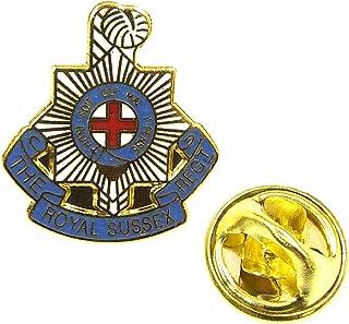 The Royal Sussex Regiment Lapel Pin Badge (Metal / Enamel)