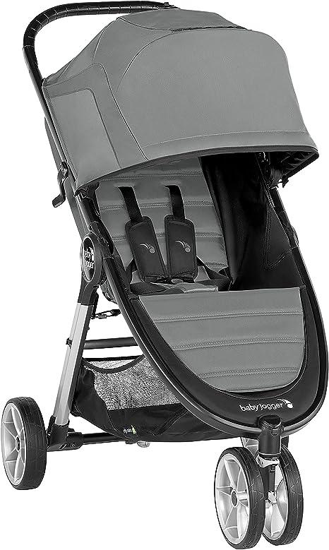 Opinión sobre Silla de paseo City Mini® 2 de 3 ruedas Slate de Baby Jogger, desde nacimiento a 22kg. Color gris
