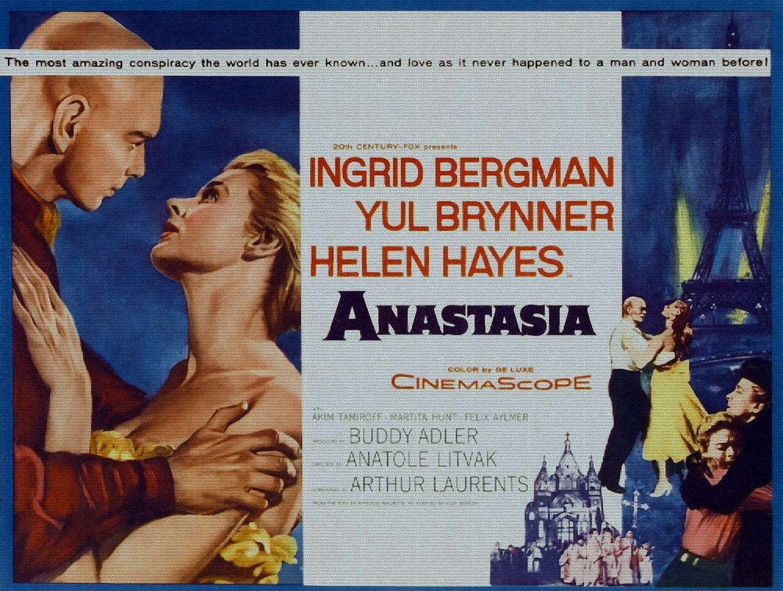 ODSAN Anastasia, Yul Brynner, Ingrid Bergman, 1956 - Premium Movie ...