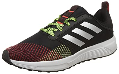 Adidas Men's Nayo M Black/Silvmt/Syello/Syell Running Shoes - 10 UK