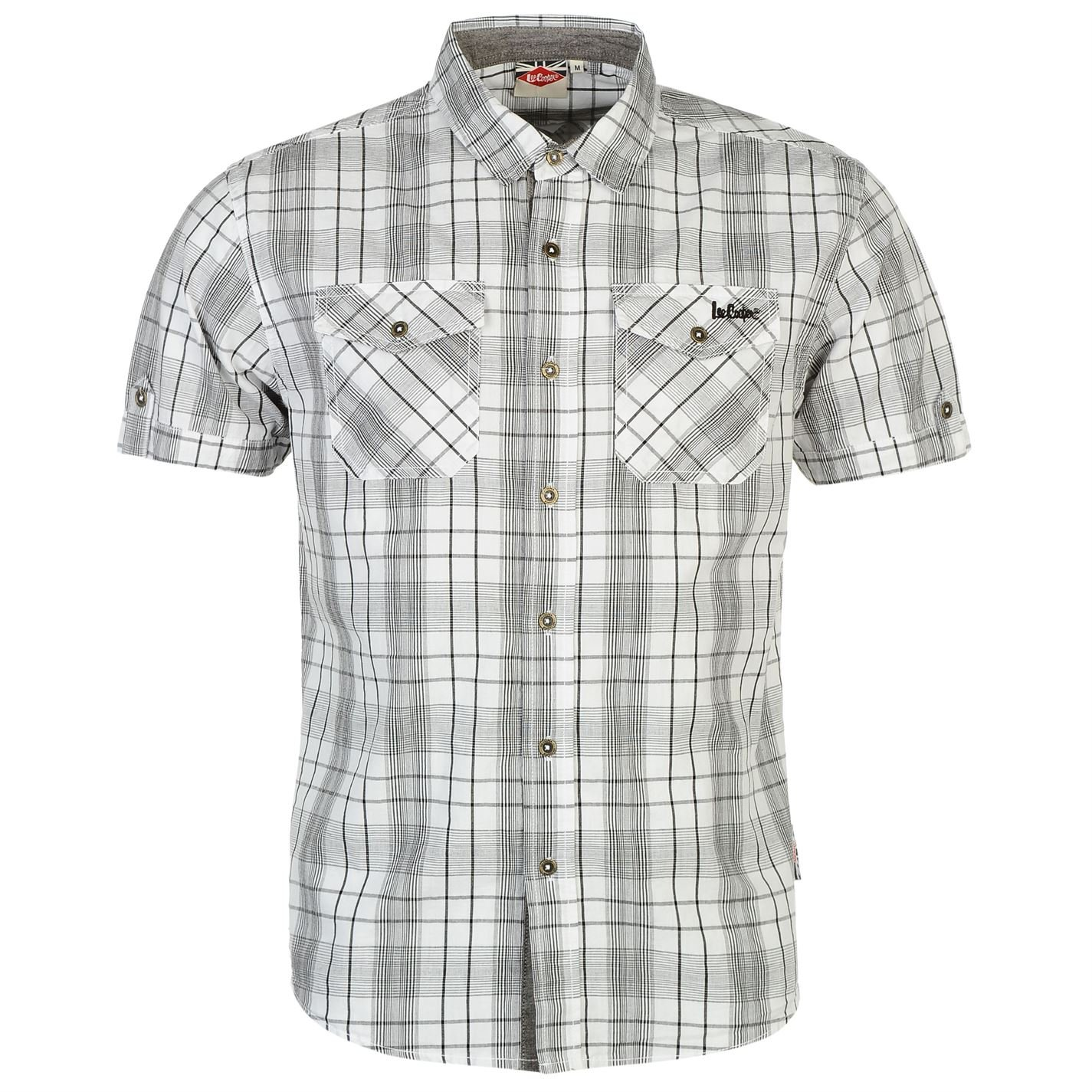 Chemise Manches Courtes Chemisette Homme LEE COOPER - Camisa ...