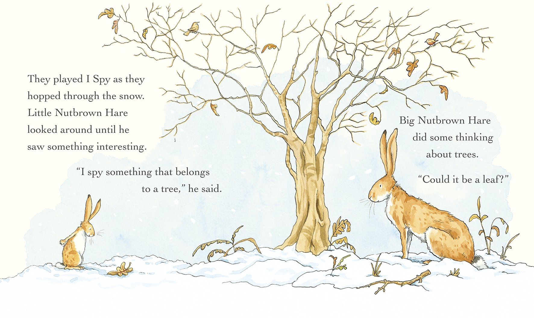 d7681bb8f88e Guess How Much I Love You in the Winter: Amazon.co.uk: Sam McBratney, Anita  Jeram: Books