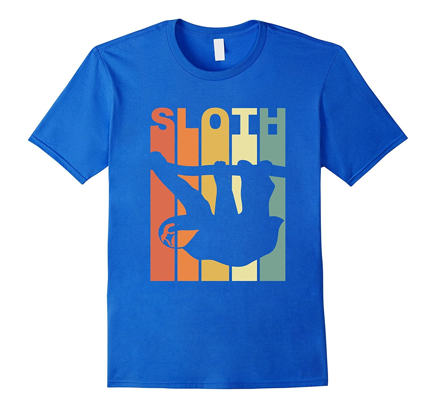 Vintage Sloth T-Shirt-Awarplus