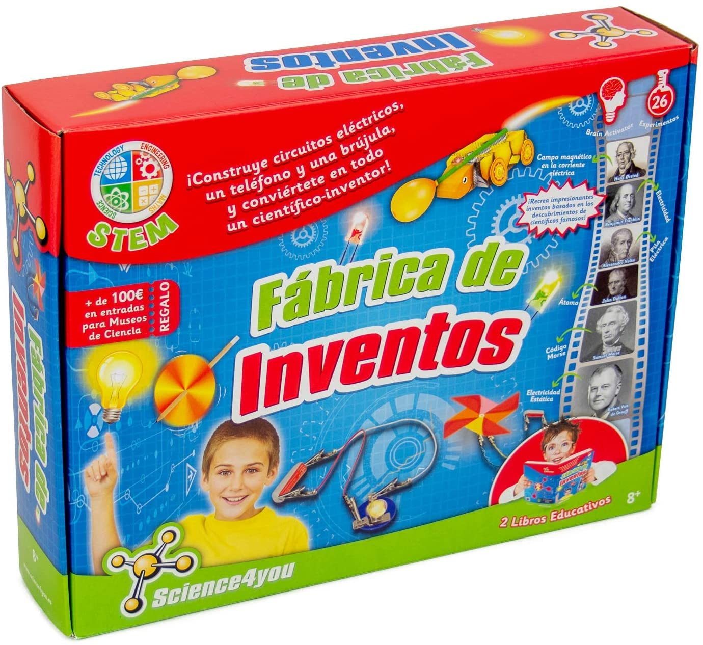 Science4you-5600983600225 Fábrica de Inventos, Juguete Educativo y ...