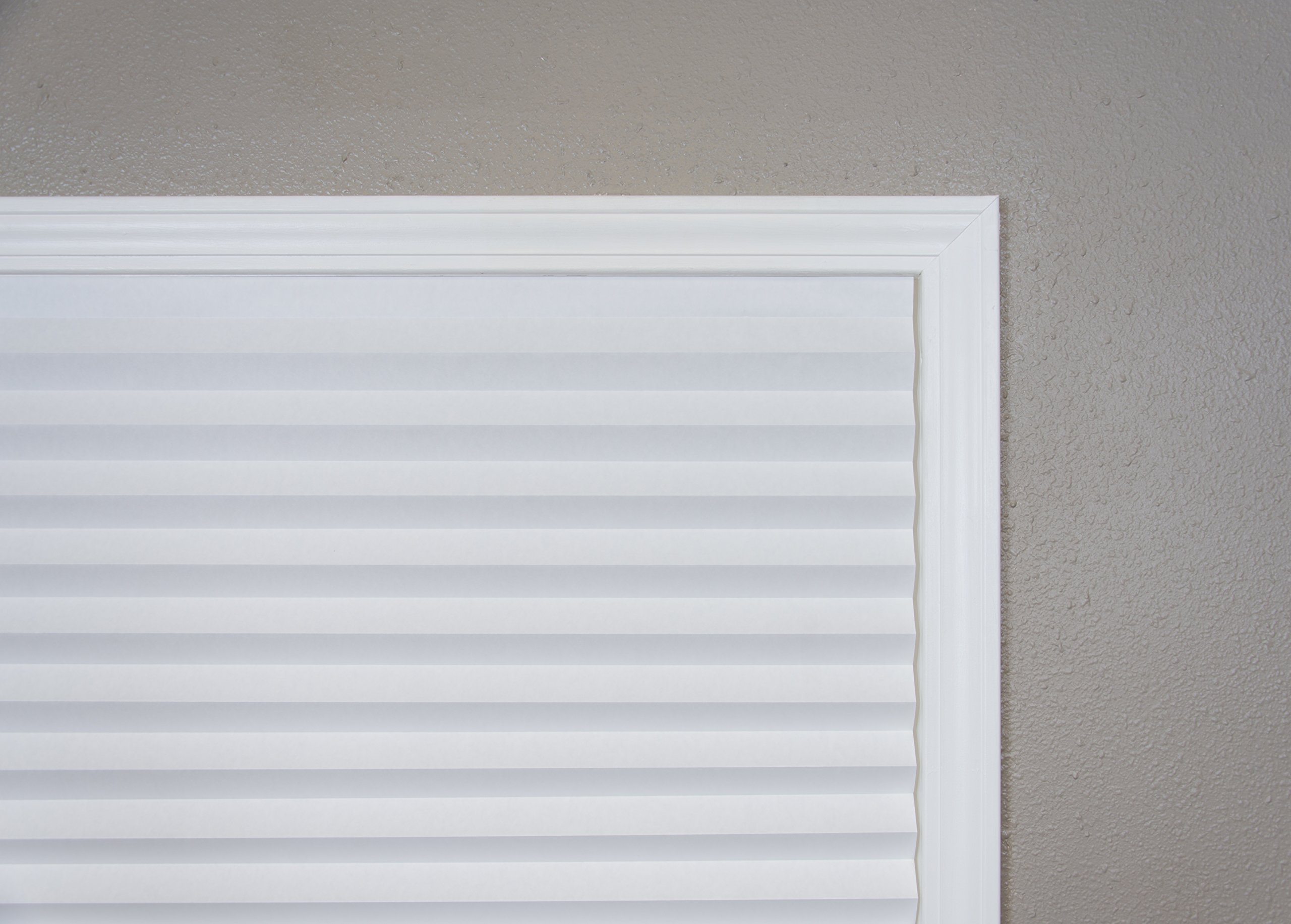 """Original Light Filtering Pleated Paper Shade White, 36"""" x 72"""", 6-Pack by Redi Shade (Image #8)"""