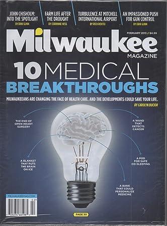 Amazon com : Milwaukee Magazine, vol  38, no  2 (February