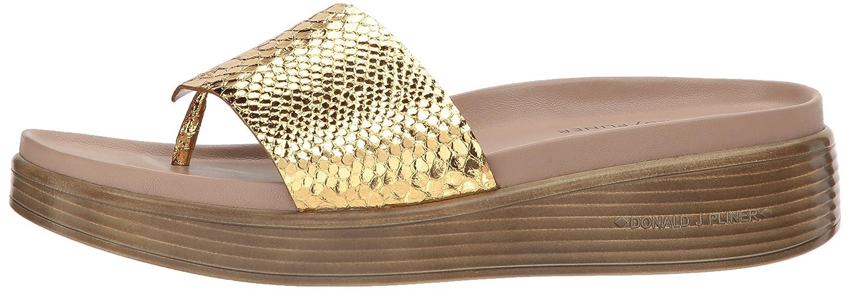 Donald J Pliner Women's Fifi19 Slide Sandal B0756C9RVN 7.5 B(M) US Gold