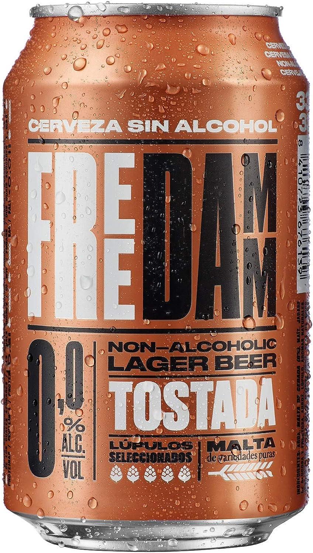 Damm Cerveza sin Alcohol Lata, 33cl