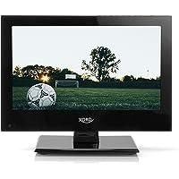 Xoro HTL 1346 33,78 cm (13,3 Zoll) LCD Fernseher (FullHD, Triple Tuner DVB-S2/T2/C, H.265/HEVC-Decoder, Mediaplayer, USB 2.0, PVR Ready, Timeshift, 12V)