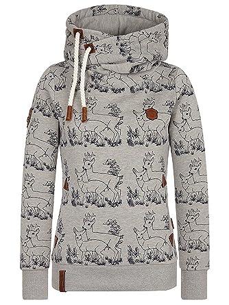 Naketano Darth im Spessart Hooded Grey Melange