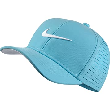 1dcf3f248 closeout blue and white nike hat d6487 22476