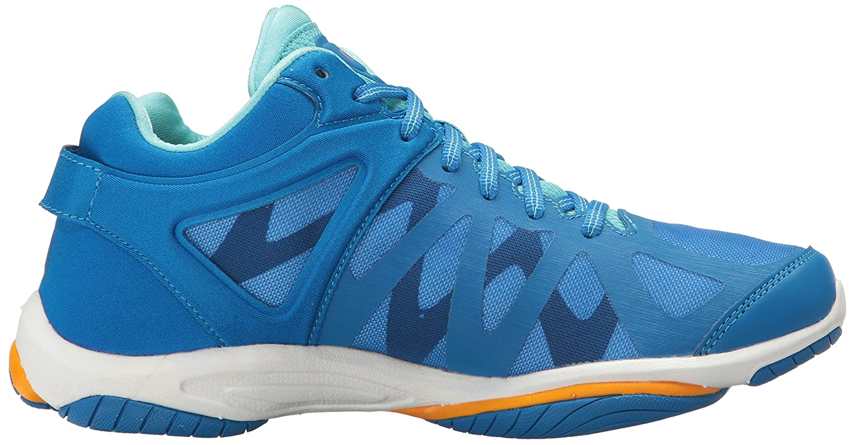 Ryka Shoe Women's Enhance 3 Cross-Trainer Shoe Ryka B01KVZ9N42 5 B(M) US|Blue/Orange e97951