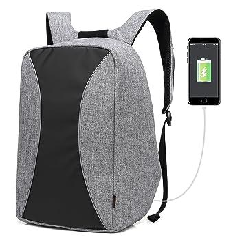 Coolbell 17,3 pulgadas portátil mochila con puerto USB carga ciudad antirrobo bolsa funcional de