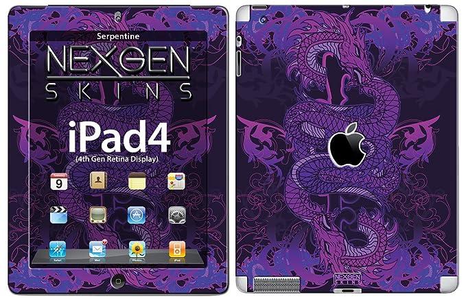 Nexgen Skins IPAD40015 Serpentine - Skin 3D para Apple iPad 2/3/4 ...
