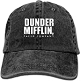 f5a06e3d2aa Dunder Mifflin Adult Cowboy Hat Baseball Cap Adjustable Athletic ized New Hat  for Men and Women