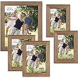MCS 5pc Rustic Wood Frame Set (65618)
