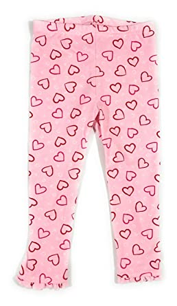 32a21d0444d27 Image Unavailable. Image not available for. Color: Toddler Girl Valentines  Day Heart Leggings ...