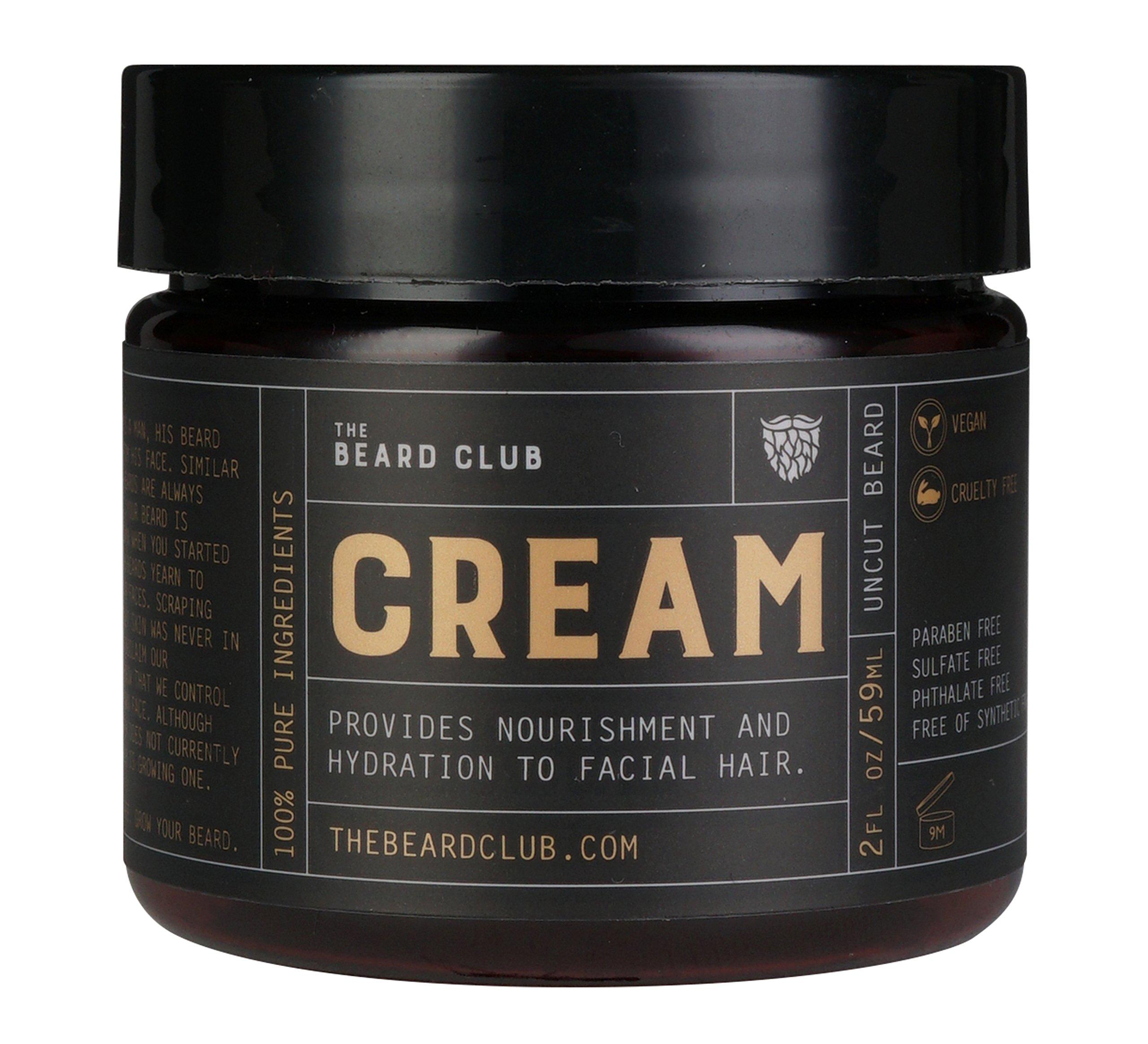 Original Beard Cream | The Beard Club | Moisturizing and Hydrating | Healthier Facial Hair &