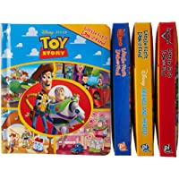 Disney Pixar, Cars, Finding Nemo, Toy Story, Friends and Heros Little My First Look and Find 4 Pack in Vinyl Bag 9781450869935