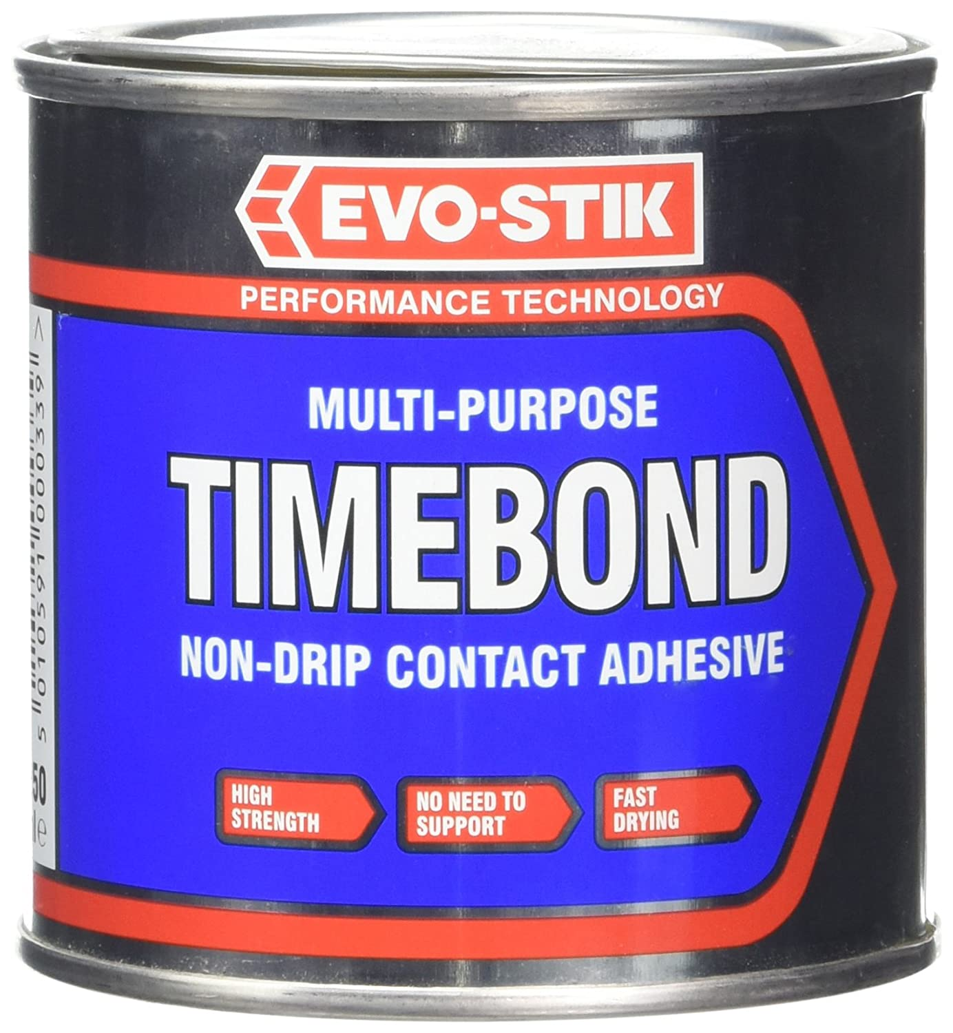 Evo Stik Time Bond Non-Drip Contact Adhesive - 250ml 627901 30812934 B0001P03VK Adhesives Adhesives and Fillers Fixings and Hardware Items Time Bond Adhesive