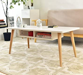 laputa simply modern tea table for living room white tea table with storage cabinet made