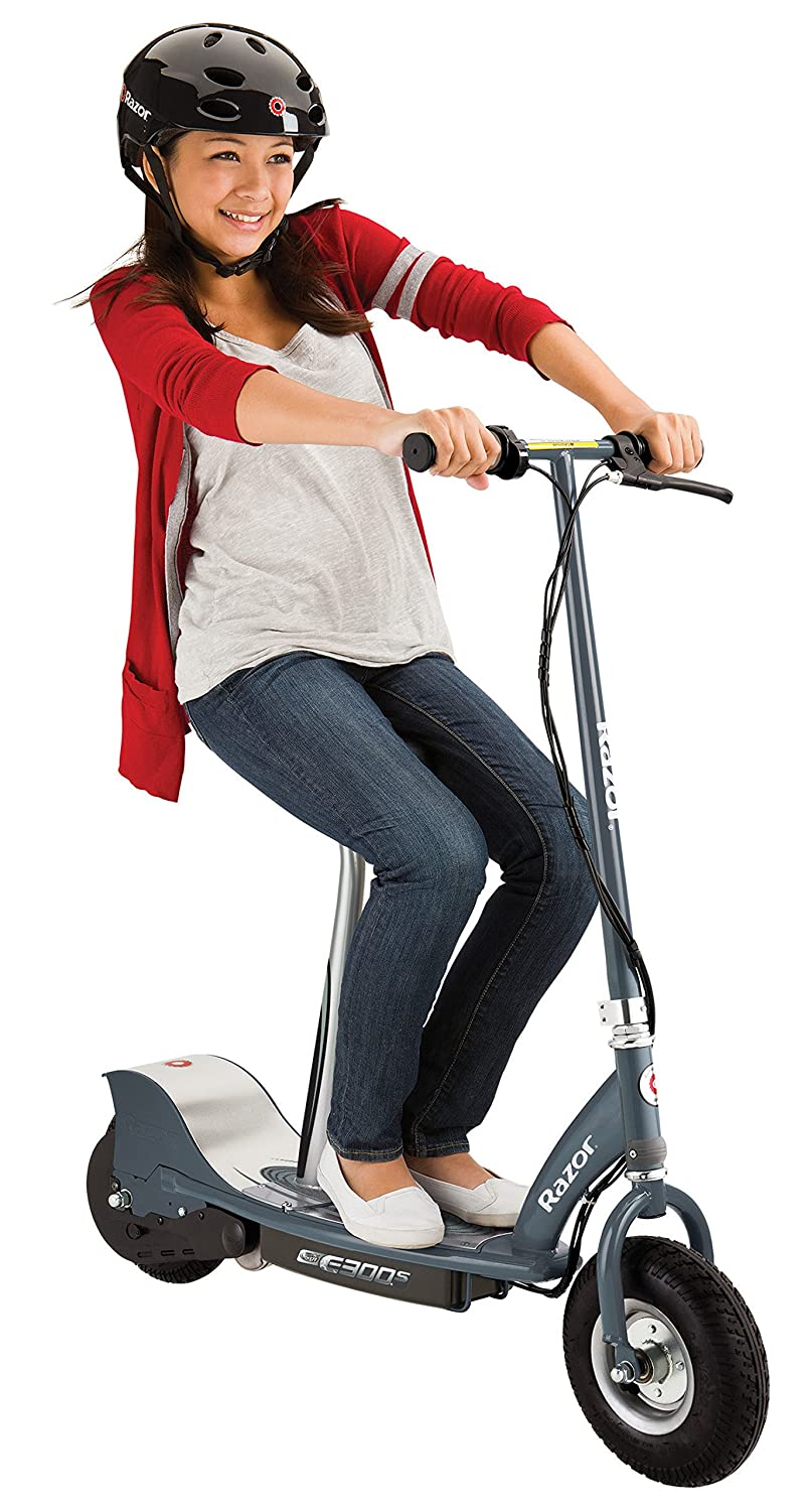 Razor Unisex Child E300s Electric Scooter Grey E90 Parts Diagram Sports Outdoors