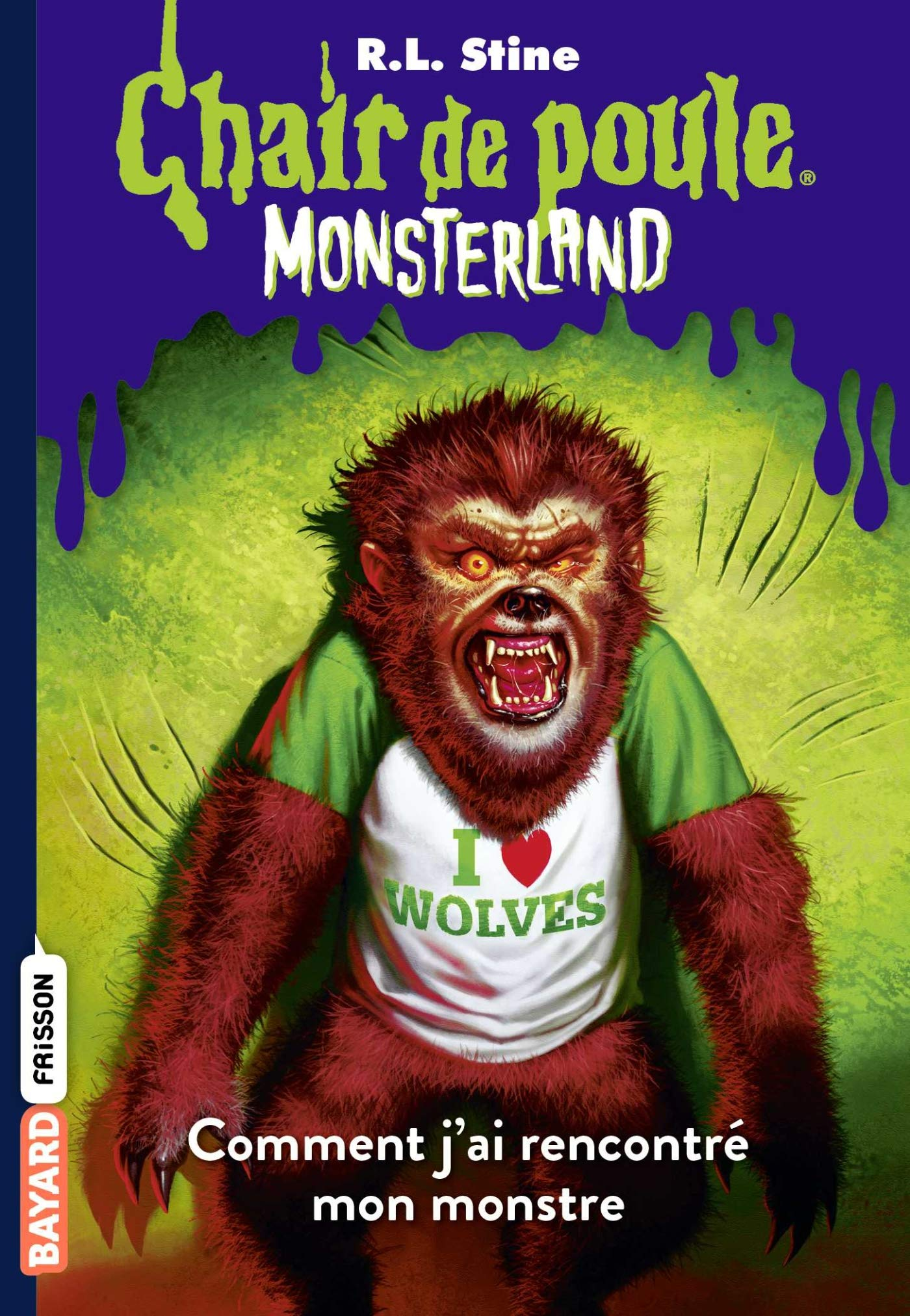 Chair De Poule Monsterland Tome 3 Comment J Ai Rencontre