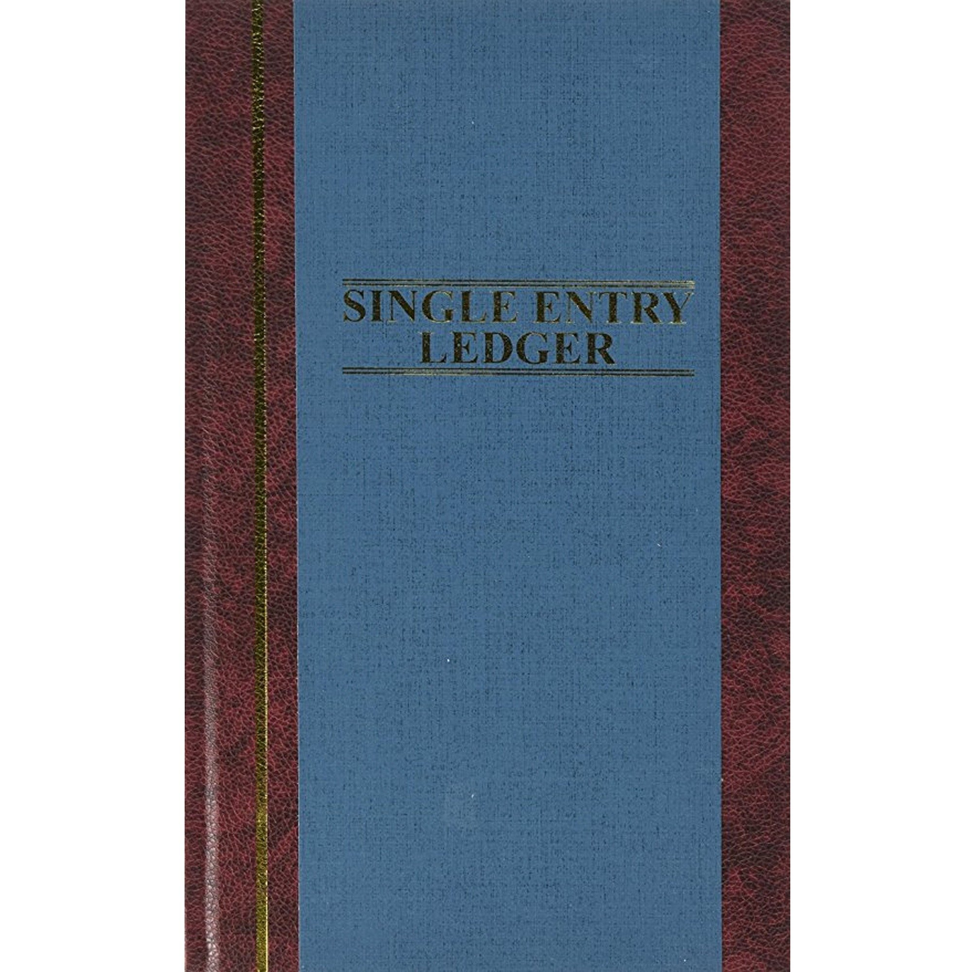 Wilson Jones S30015SEL Account Book,S.E. Ledger-Ruled,150 Pages,11-3/4''x7-1/4,Blue