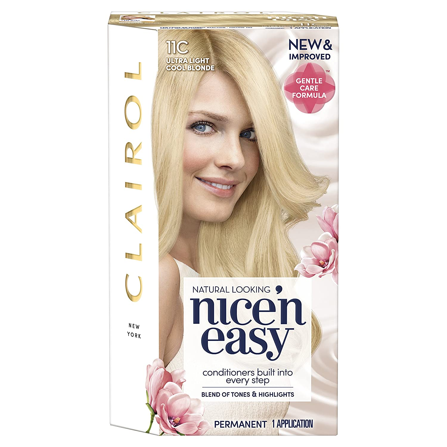Clairol Nice' n Easy Permanent Hair Dye SB1 Ultra Light Natural Beach Blonde Coty 81649317