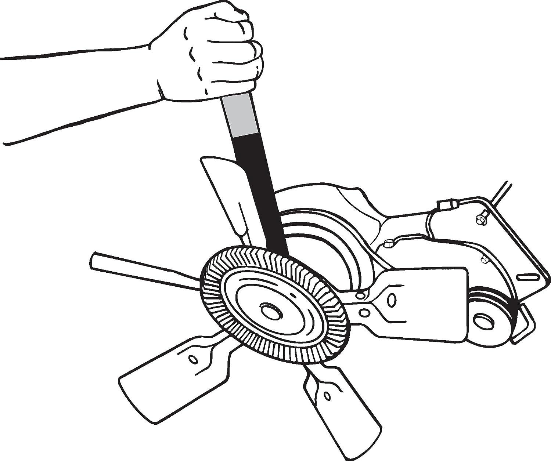 Lisle 44180 Fan Clutch Spanner Wrench